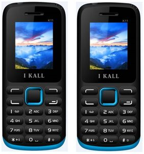 I KALL K11 (Blue) Pack of 2