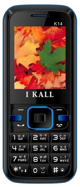 I Kall K14 Blue 1.8 inch Dual Sim Feature Mobile