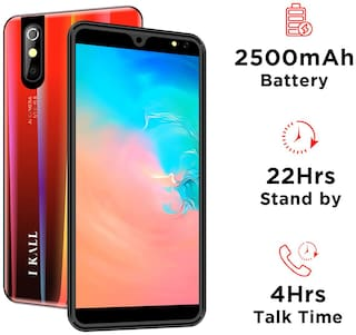 I KALL K200 2 GB 16 GB (Red)