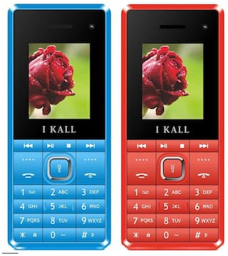 I Kall K2180-Set of 2 Red and  Blue