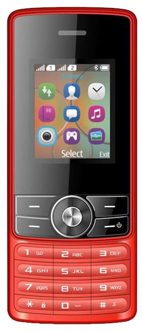 I Kall K24New 1.8 inch Dual Sim Phone(Red)