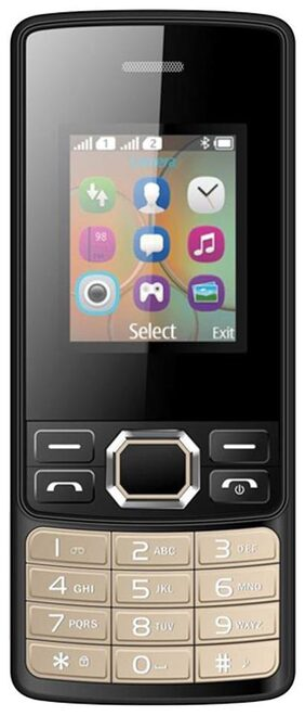 I Kall K25New 1.8 inch Dual Sim Phone(Black)