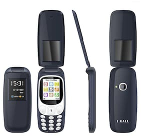 I Kall K3312 Flip Phone Dark  Blue