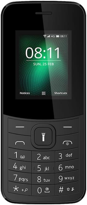 I Kall K38New 1.8 inch Dual Sim Phone(Black)