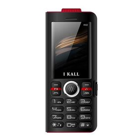 I Kall K42 8000 mAh Powerbank Phone (Black)