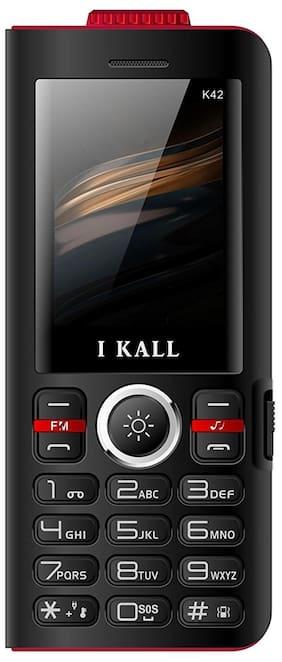 I KALL K42 8000 mAh Powerbank Phone (Black)