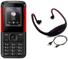 I Kall K5310 Red Black with Neckband