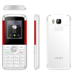 I Kall K5310 Good Looking Phone White Red
