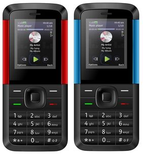 I Kall K5310-Set of 2 (Blue+Red) Black