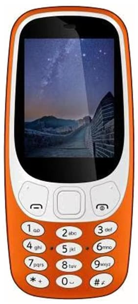 I Kall K71 1.8 Inch Dual SIM Orange
