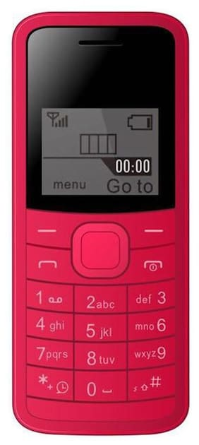 I Kall K73 1.4 inch Mobile Phone (Red)