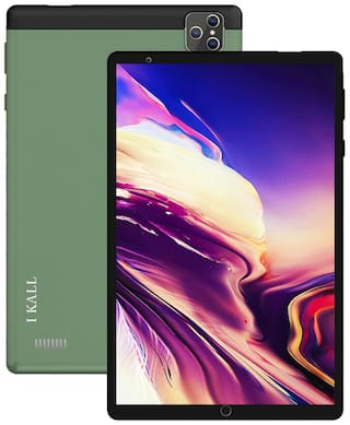 I KALL N17 4G Calling Tablet (8 Inch HD Display, 3GB Ram, 32GB Storage, Dual Sim, Android 10.0) (Green)