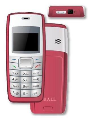 I Kall Red 3.65 cm (1.44 Inch) K72 with Spinner