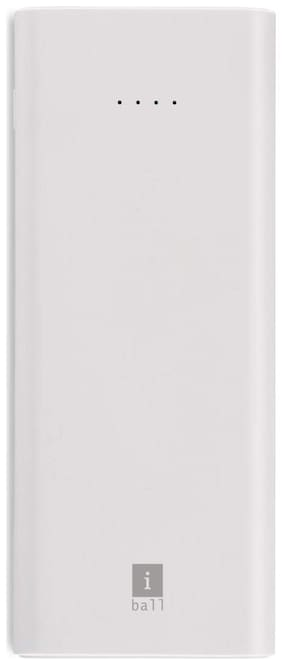 iBall 1000LPS_GRY 10000 mAh Fast Charging Power Bank - Grey
