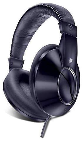 iBall Iball lisztomania 5 On-ear Wired Headphone ( Black )