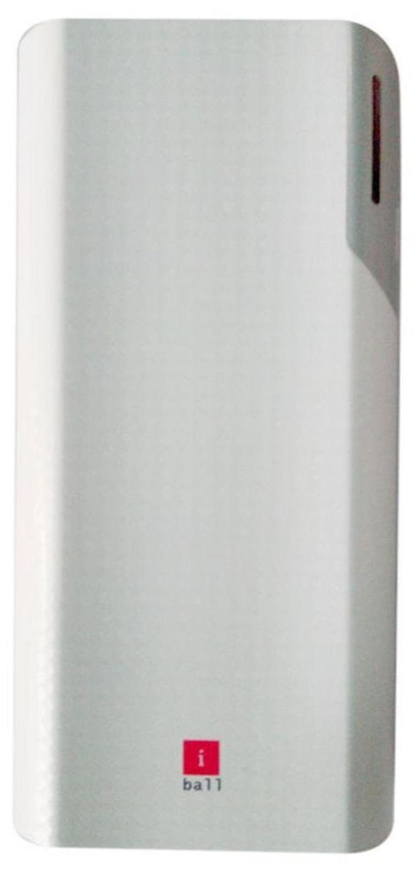 iBall PB-10017 10000 -mAh Li-Ion Power Bank (White)
