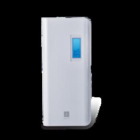 iBall PB-10107 10000mAH Lithium Polymer Power Bank - White /Grey