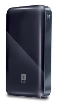 iBall PLM-12100 12000 mAh Power Bank (Black)