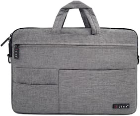 BROLAVIYA  ICEBERG MAKERS.IN 15 Inch Grey Laptop Sleeve Case Bag for Apple,Protective Handle Sleeve Laptop Bag