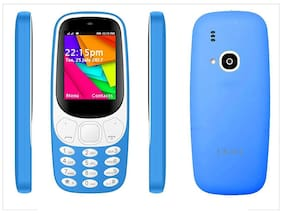 I KALL K35 6.09 cm (2.4 Inch) DUAL SIM- LIGHT BLUE