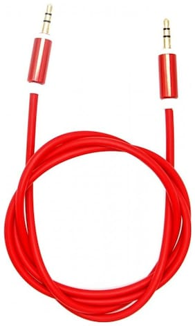 IMMUTABLE Aux cable - 1-1.5m , Red