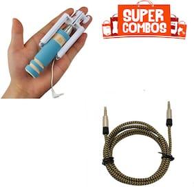 IMMUTABLE IMMUTABLE RME Mini Pocket Selfie Stick with Aux cable