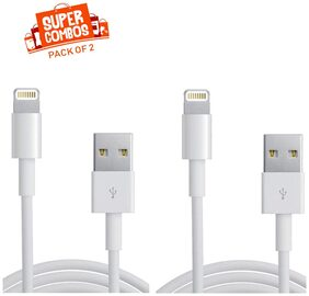 IMMUTABLE RME Lightning Cable For iPhone 6S Plus / 6S / 6 / 5S / 5C /5/Ipad Pro/Ipad Air/Ipad Air 2/Ipad Mini/Mini 2/Mini 4 (PACK OF 2)