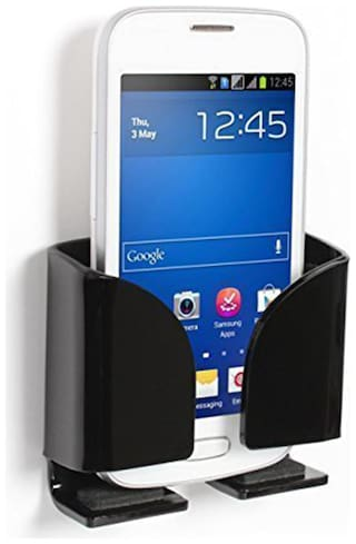 IMMUTABLE Wall Stand For All Smartphones  (Black)