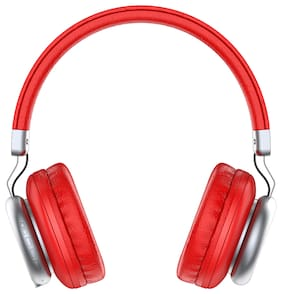 IN ONE YW691 On-Ear Bluetooth Headset ( Red )