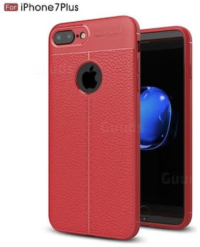 INCLU Back Cover For Apple iphone 7plus  Red