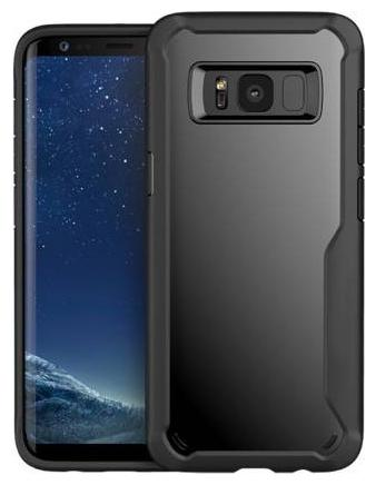 INCLU Polycarbonate Back Cover For Samsung Galaxy S8 Plus   Black   by Inclue Tech