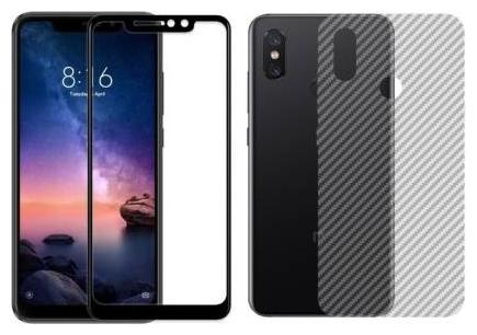Mi Redmi Note 5 Pro Front and Back Tempered Glass By INCLU by Inclue Tech