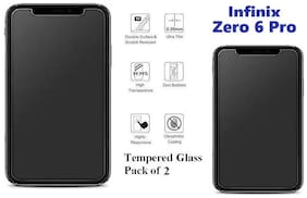 Infnix Zero 6 Pro Tempered Glass (PACK OF 2)