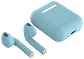 Inpods i12 TWS With Free M3 Band   With Blue Charging Case Wireless Bluetooth Earphone With Mic