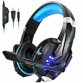 INSMART PS4 Headset, Gaming Headsets for Xbox One, PC, Enhanced Surround Sound,