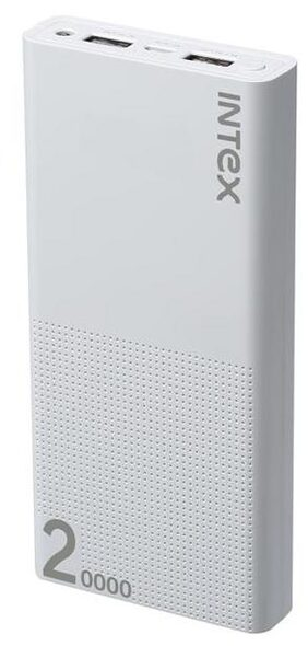 Intex IT-PB 20K Poly 20000 mAh Power Bank (White)