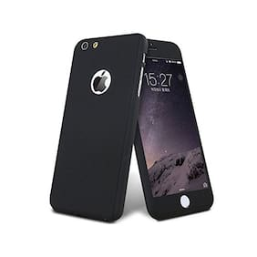EXOTIC FLOURISH Polycarbonate Back Cover For Apple iPhone 7 & Apple iPhone 8 ( Black )