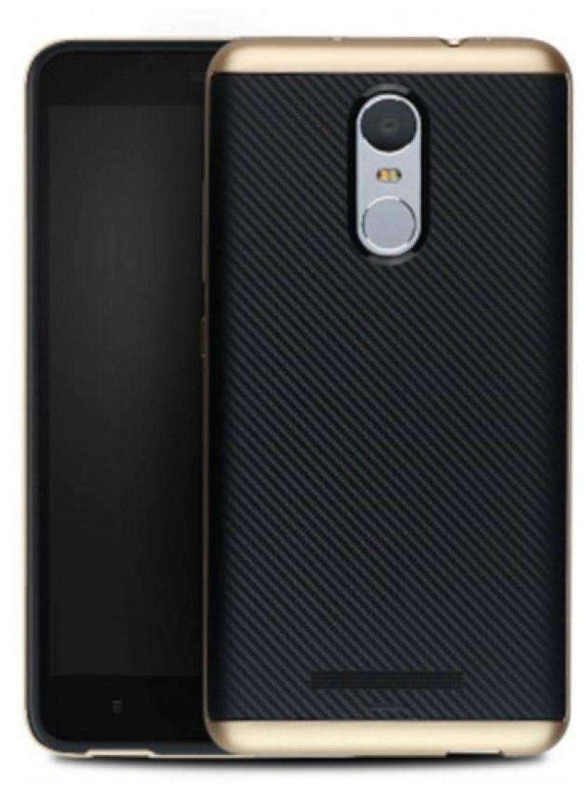iPaky Back Cover For Xiaomi Redmi Note 4  Golden  by Universe
