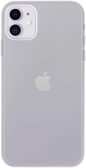 iPhone 11 Back Cover (Transparent)