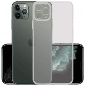 iPhone 11 Pro Transparent Premium Soft Back Cover Case
