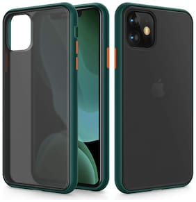 Accessories Kart Polycarbonate Back Cover For iPhone 11 Pro Max ( Green )