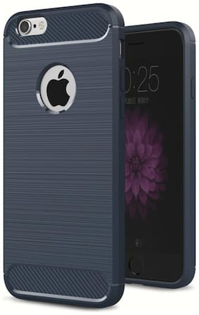 Apple iPhone 7 Silicone Back Cover By Accessories Kart ( Black )