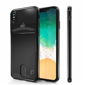 iPhone X Case, PUNKcase [LUCID Series] Slim Fit Protective Dual Layer Armor