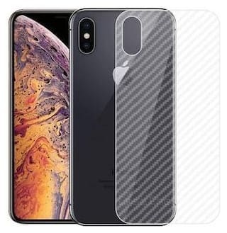 iPhone Xs Transparent 3D Mobile Skin for Back