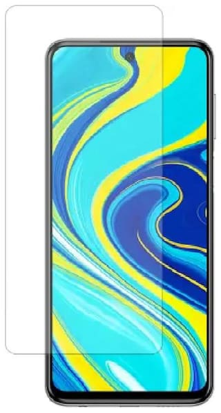 ISAAK Tempered Glass For  Redmi Note 9 Pro Max  (Pack of 1)