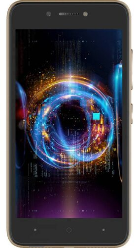 itel A42+ 16 GB (Black & Gold)