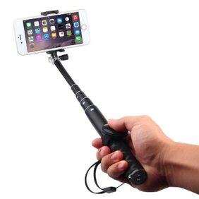 iVoltaa #SELFY 2.1 Aluminium Selfie Stick with Bluetooth Shutter remote Combo