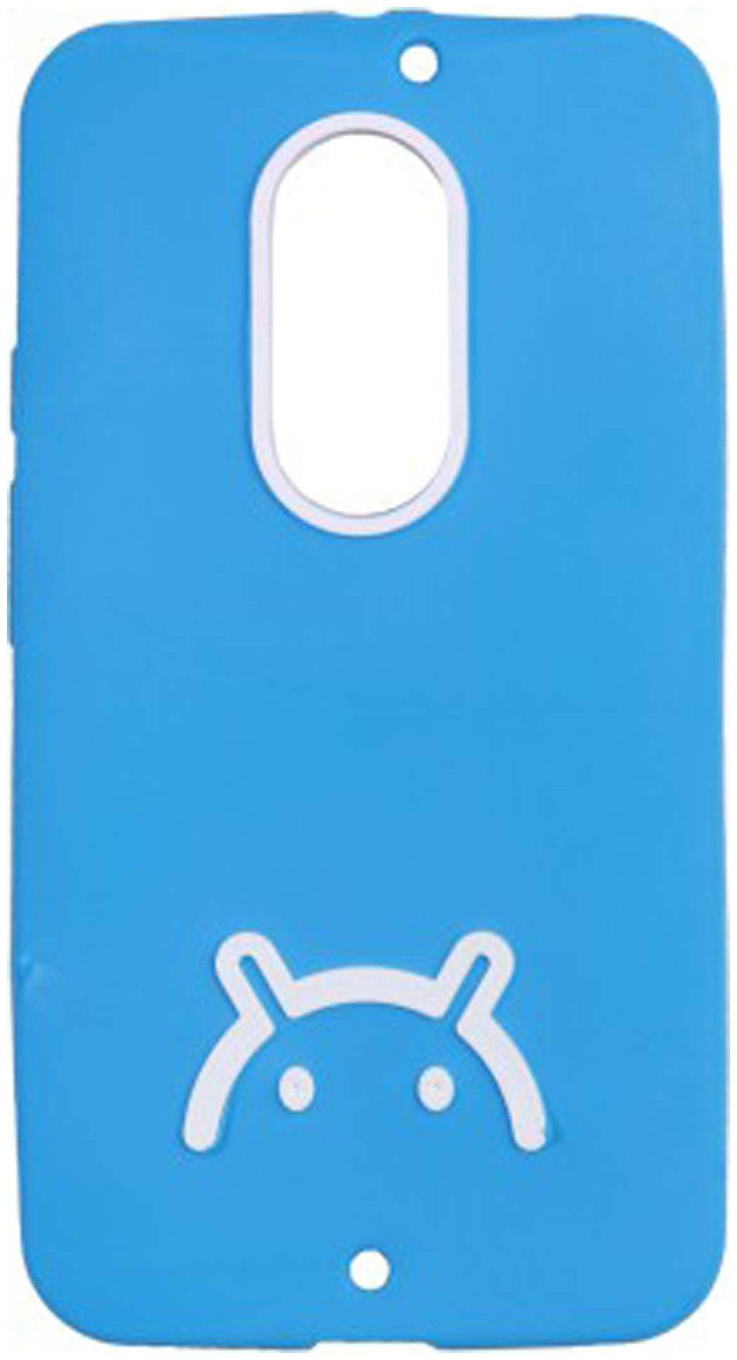 Iway Back Cover For Motorola Moto X  2nd Gen   Blue  by I Way