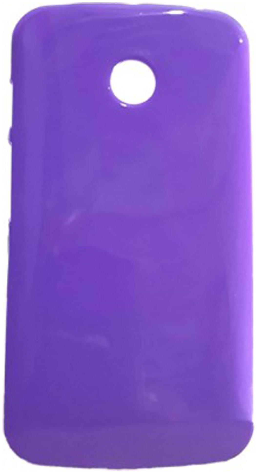Iway Back Cover For Motorola Moto E 1st Gen XT1022  Purple