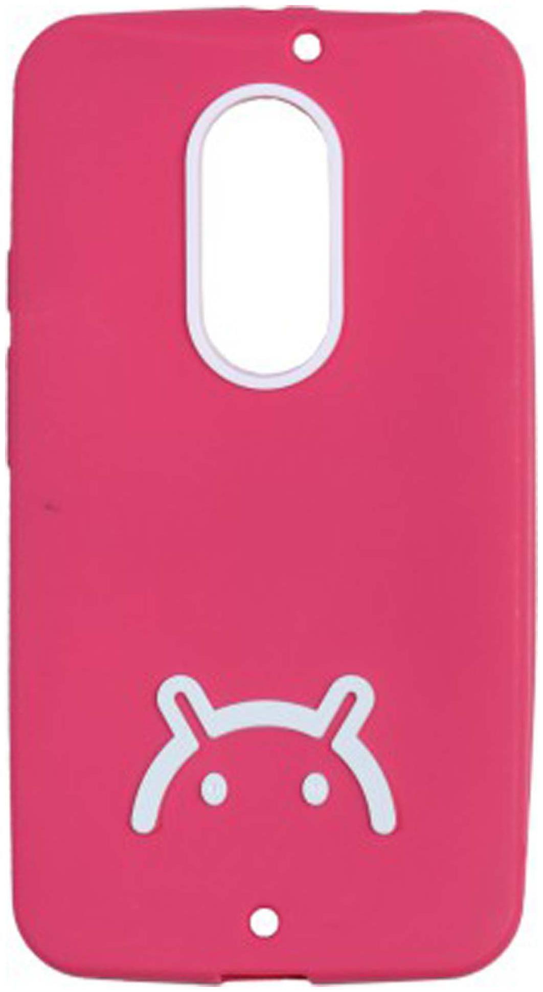 Iway Back Cover For Motorola Moto X  2nd Gen   Pink